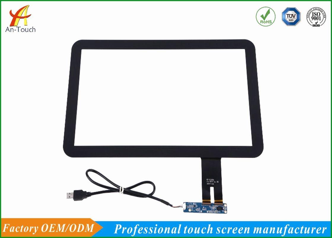 Long Life Projected Capacitive Touch Panel 15.6 Inch , 1.1mm Cover Lens