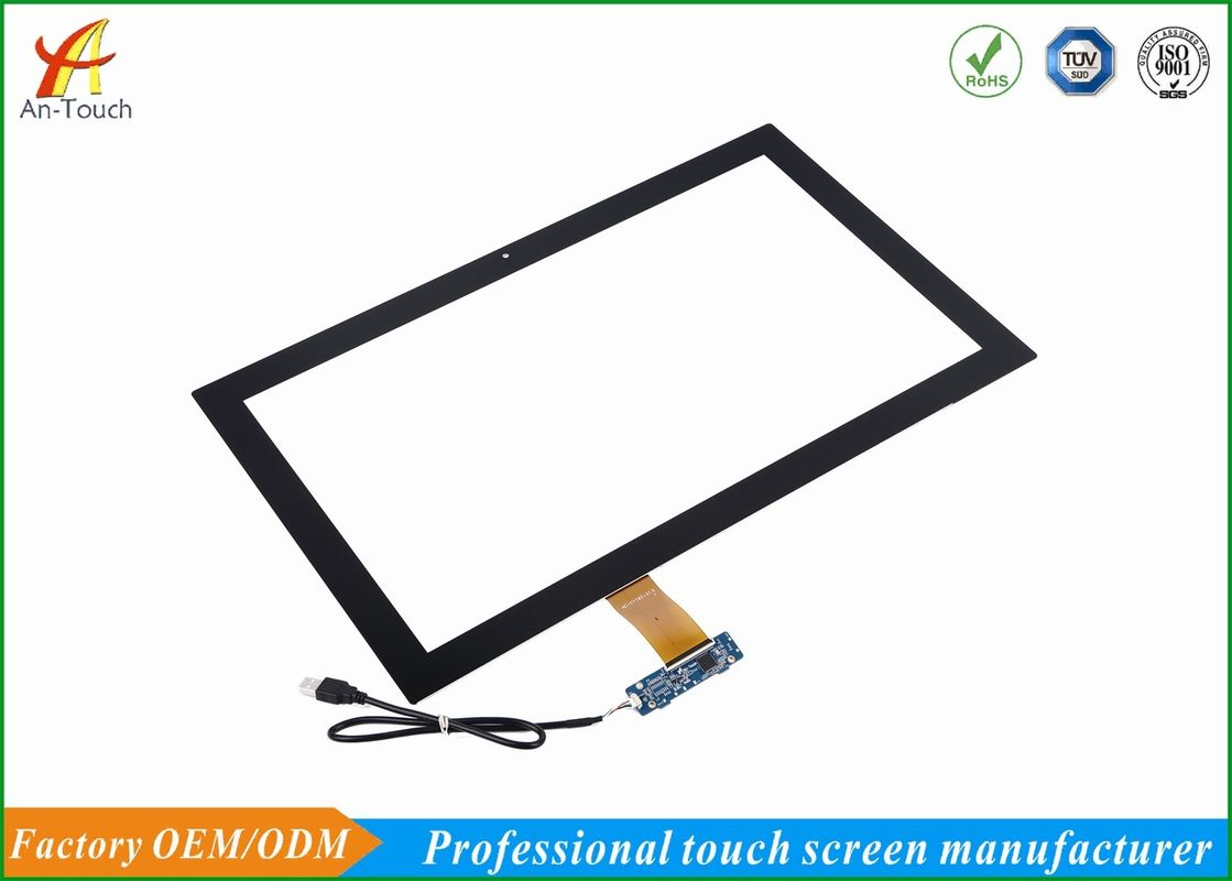 Finger Touch Advertising Touch Screen 10 Point 21.5 Inch Custom Touch Panel