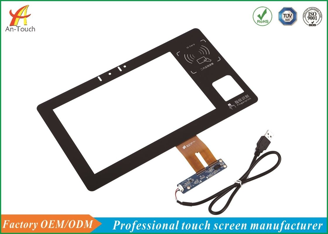 10.1 Inch Capacitive Touch Screen , Industrial Touch Panel For Visitor Touch Machine