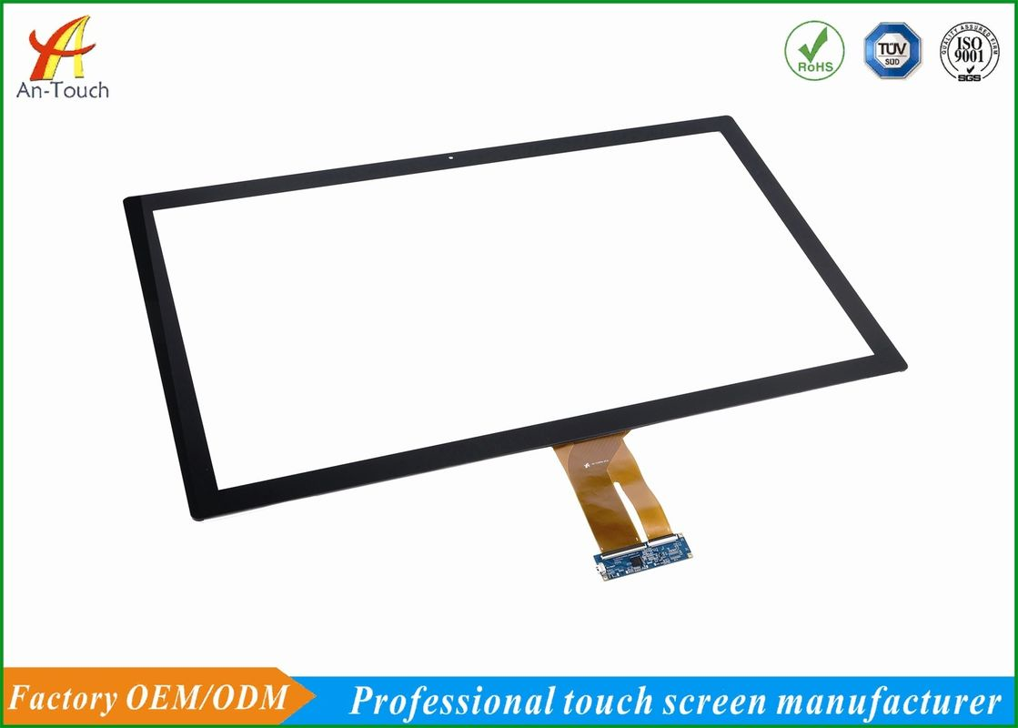 Interactive KTV Touch Screen Overlay Kit 32 Inch GG Structure With 1-10 Touch Point