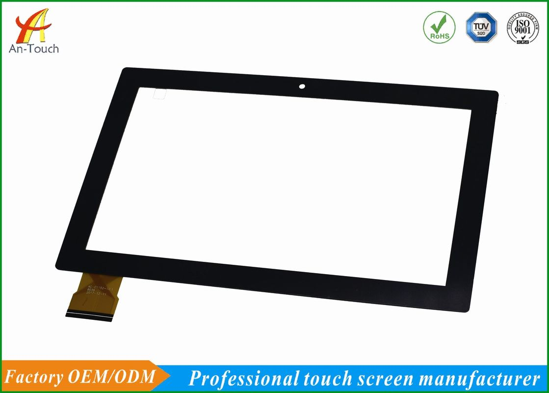 Custom KTV Touch Screen Panel 10.1 Inch CTP 1920x1080 1.1MM Thickness