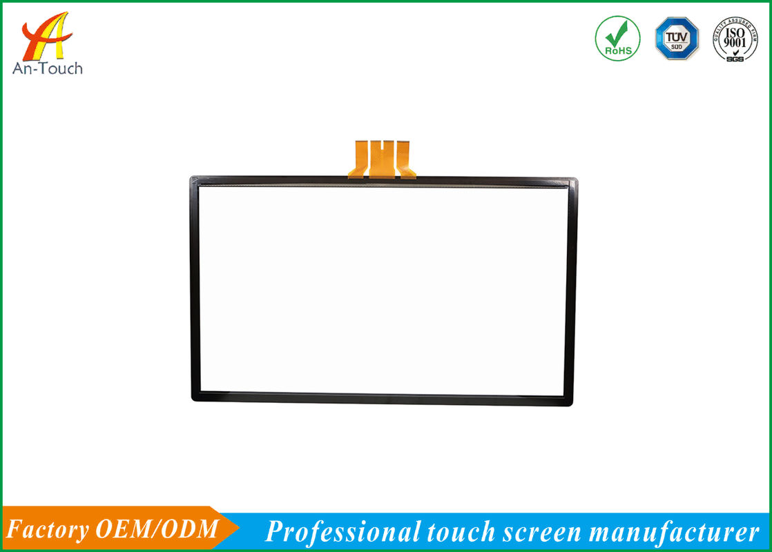 65 Inch Large Capacitive Touch Screen / Clear Capacitive Multi Touch Panel